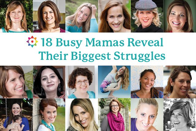 18 Busy Mamas Reveal Their Biggest Struggles
