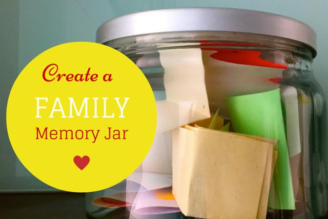 Create a Family Memory Jar
