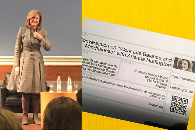 Arianna Huffington speaks to Kelly Pietrangeli of Project Me for Busy Mothers about balance.