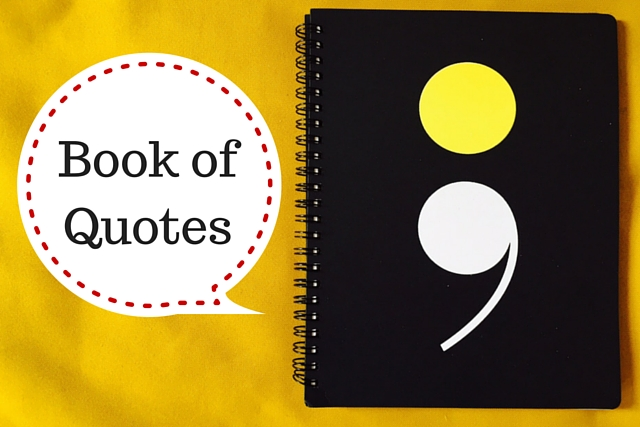 Keeping A Family Book of Quotes