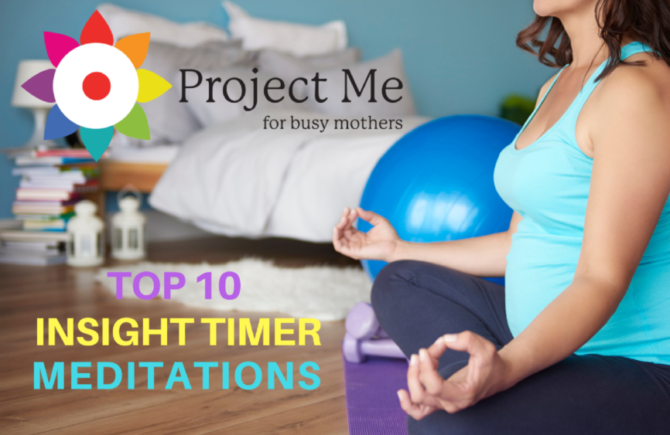 Top 10 Insight Timer Meditations for Mothers