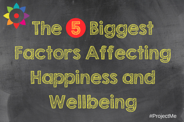 The 5 Biggest Factors Affecting Happiness and Wellbeing