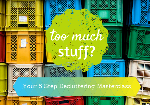 Too much stuff? How to clear the clutter, step by step.