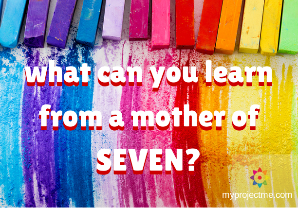 Parenting tips from a mother of seven kids
