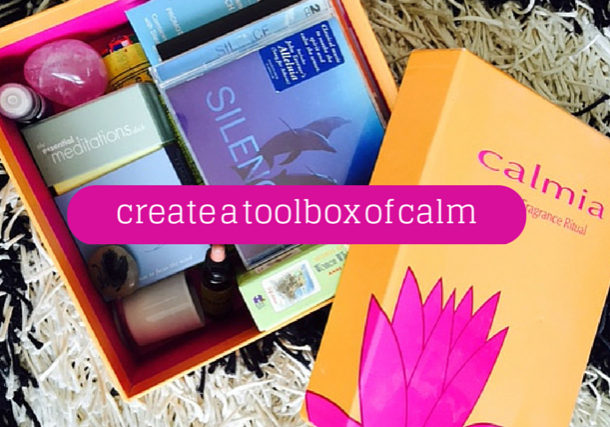 Project Me shows you how to create a tool box of calm for mothers