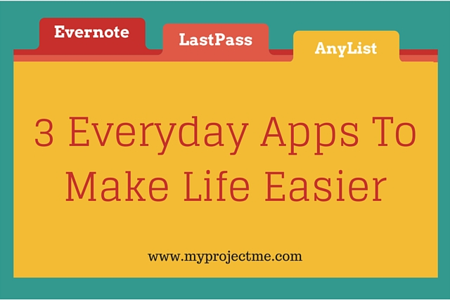 Productivity apps like Evernote, LastPass and AnyList to help busy mothers