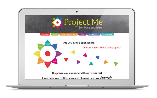 The new and improved Project Me website
