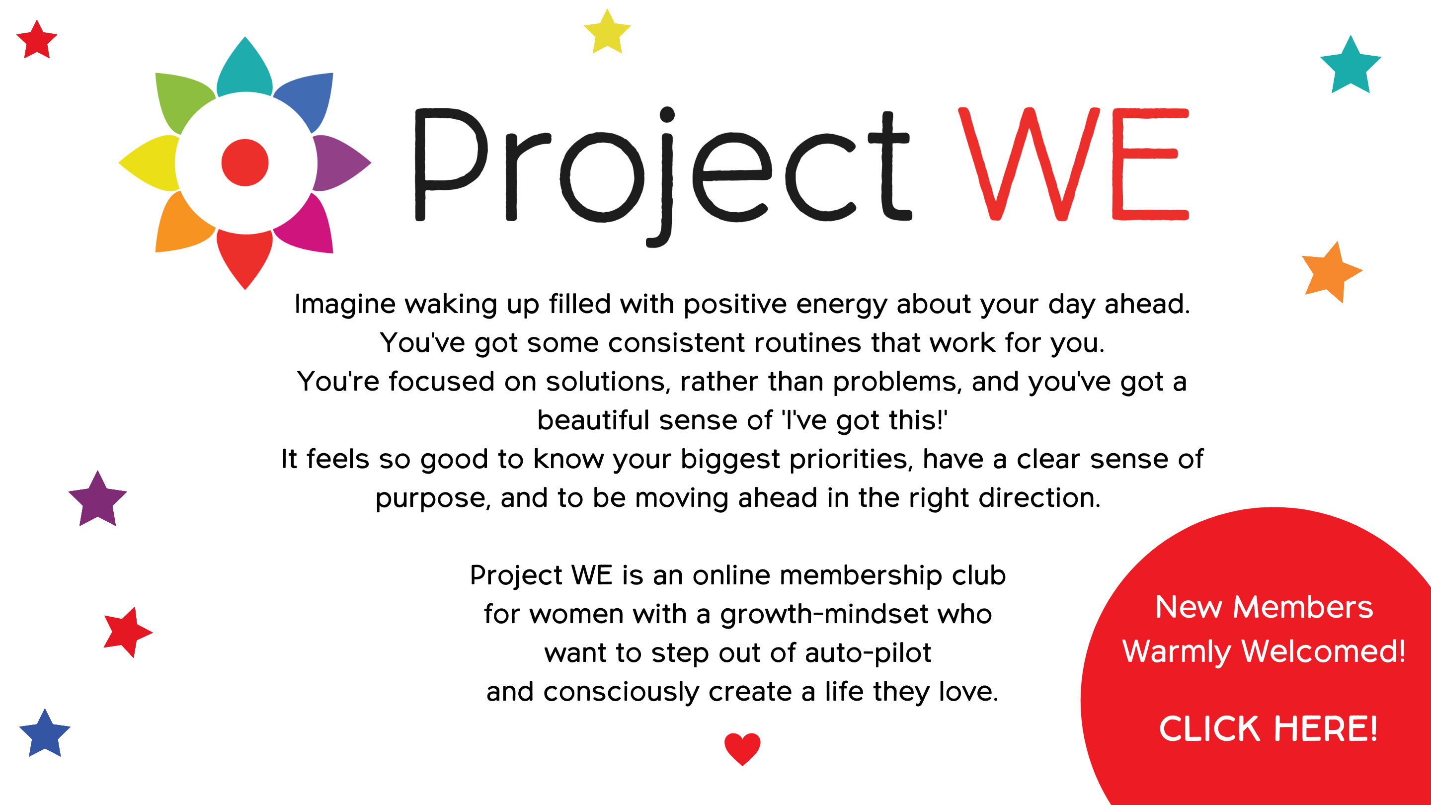 Project WE women's online membership club
