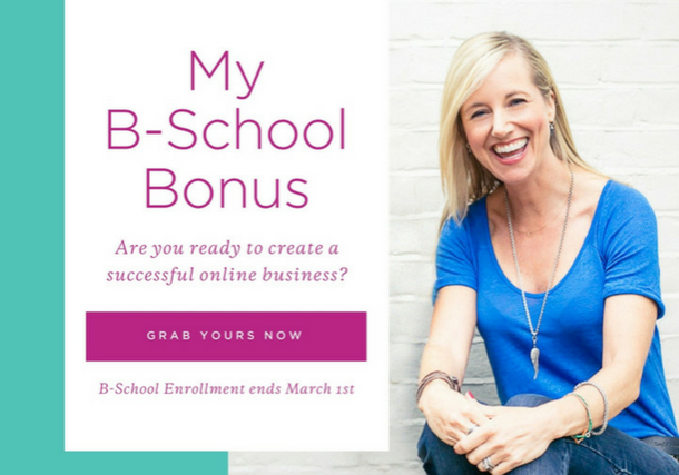 My B-School  Bonus 2018 Project Me for Busy Mothers