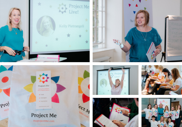 Project Me Live 2018 A focus on health and wellbeing with Suzy Reading, Charlene Hutesbaut, Jemma Thomas, Dominique Antiglio, Cheryl Brokker, Anandi the Sleep Guru, Kirkland Newman Smulders, Kelly Pietrangeli, Lucinda Miller