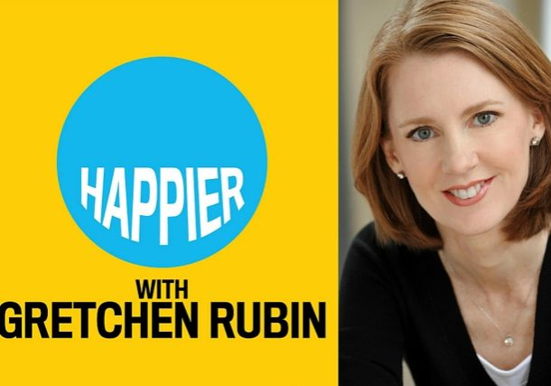 Gretchen Rubin studies happiness, habits and human behavor